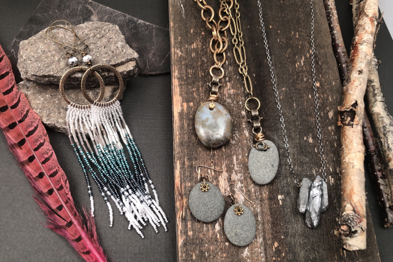 Caring For your Jewelry: Sterling silver, copper & bronze naturally oxidize over
