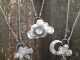 Cloud with Faceted Moonstone in Sterling Silver